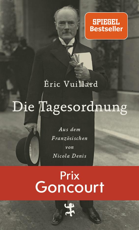 Die Tagesordnung von Éric Vuillard Parkbuchhandlung Buchhandlung Bonn Bad Godesberg