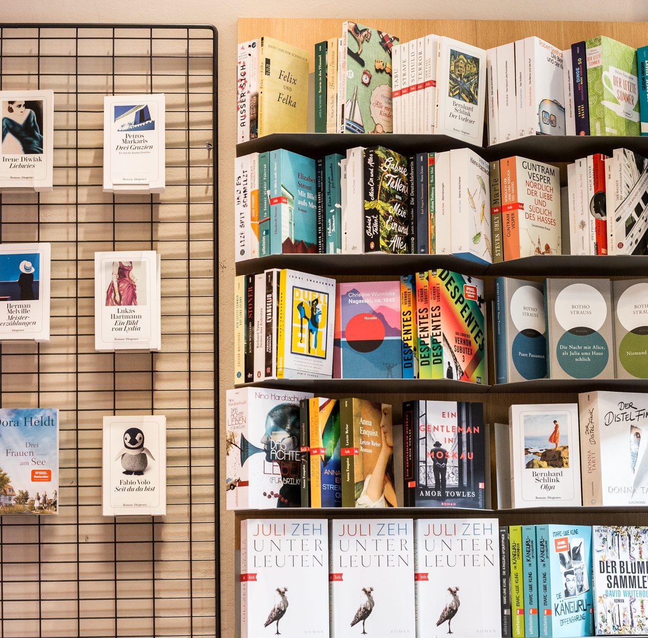 Taschenbuch | Regal | Parkbuchhandlung | Raeumlichkeiten | Buecher