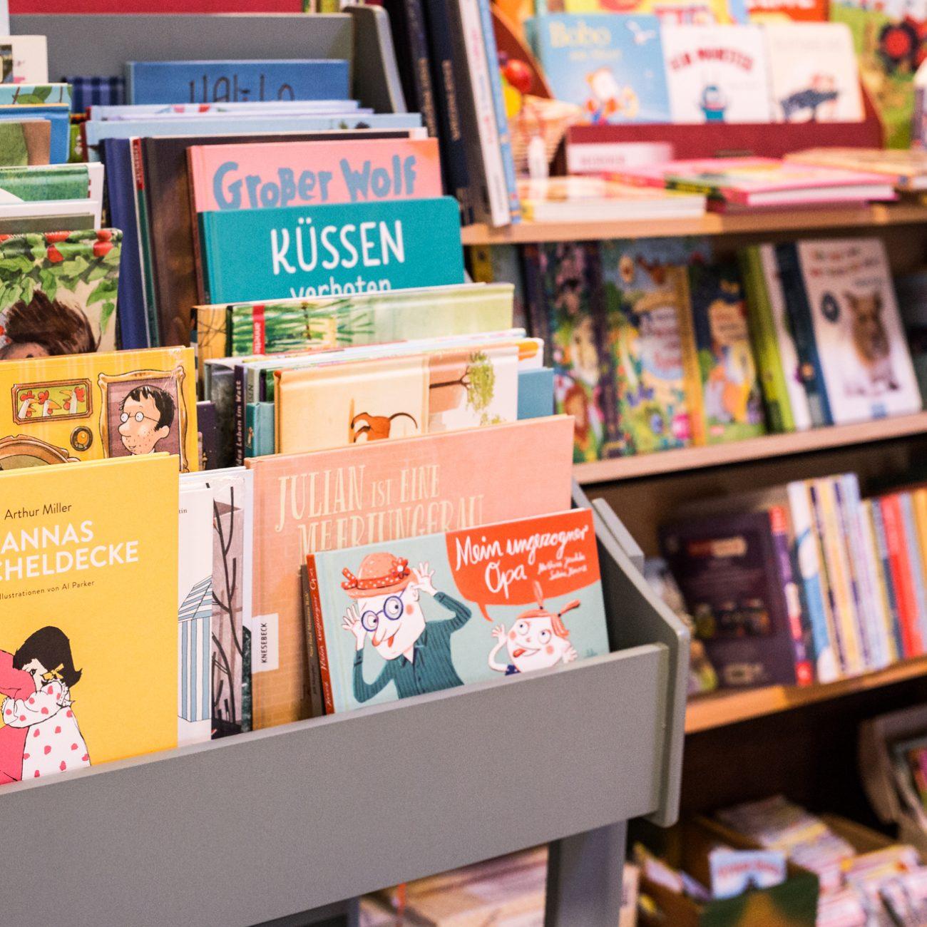 Kinderbuch | Parkbuchhandlung | Buecherregal | Bilderbuch | Erstlesebuch