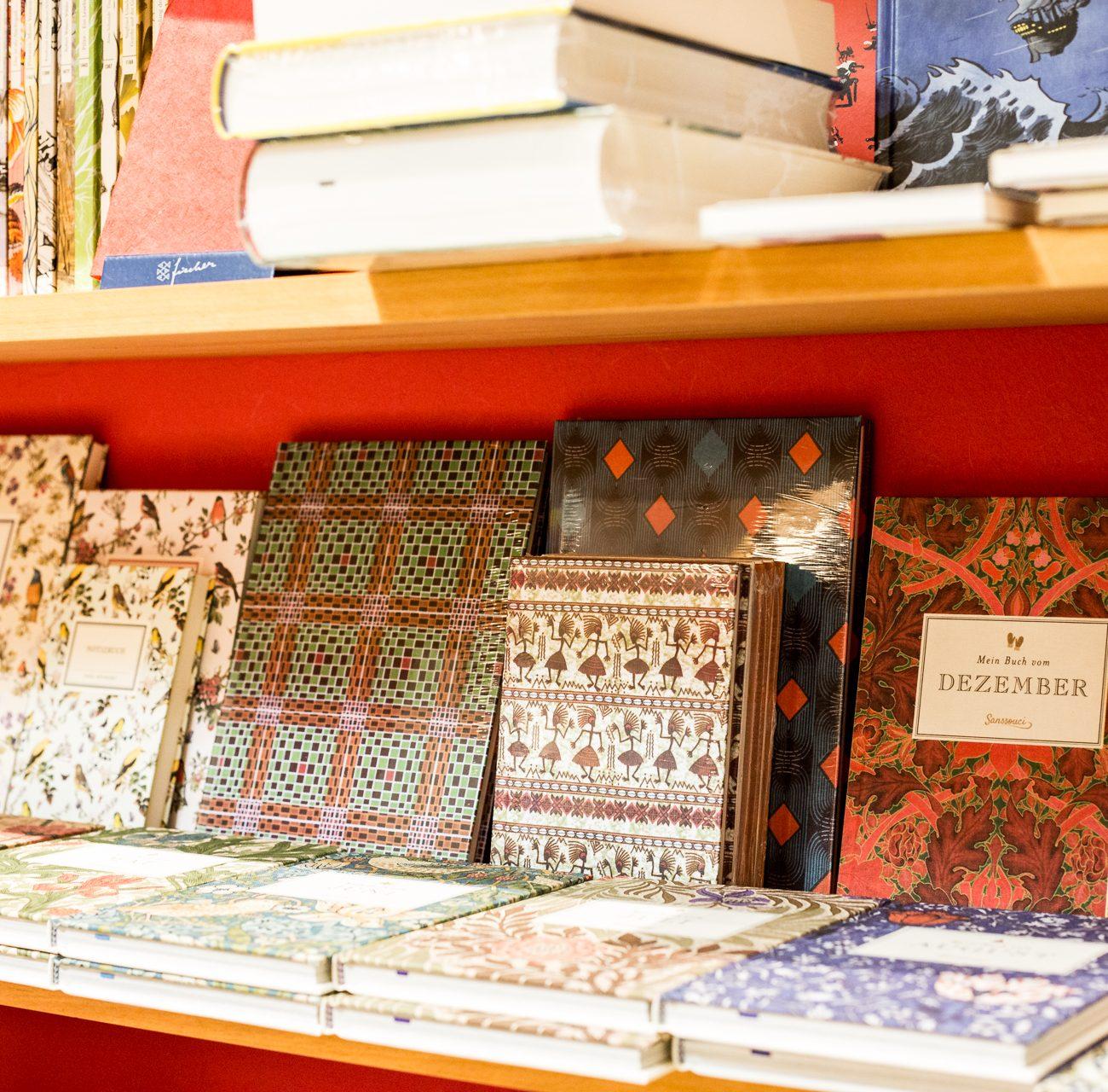 Notizbücher | Parkbuchhandlung | Bücherregal | Papeterie