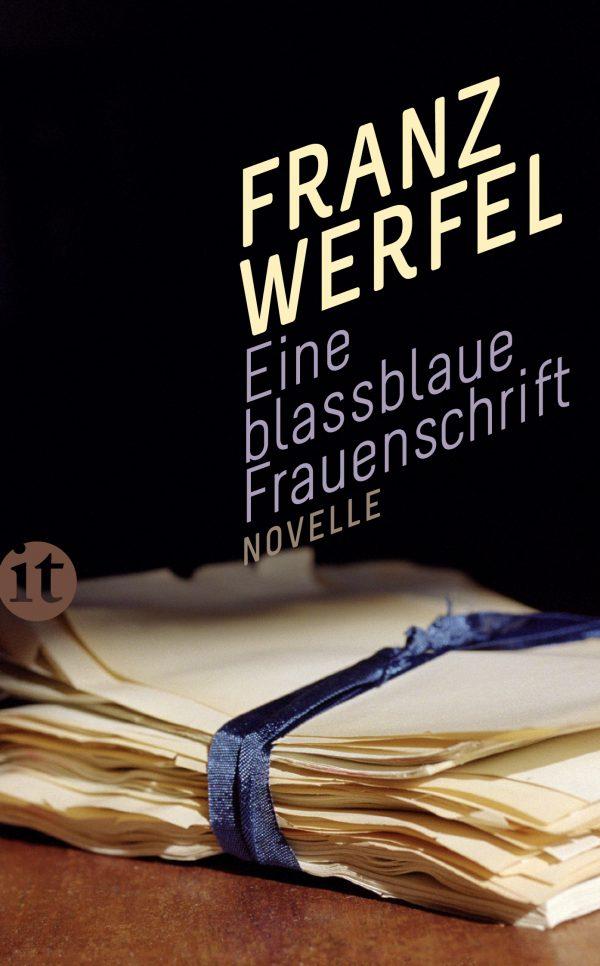 Eine blassblaue Frauenschrift von Franz Werfel Parkbuchhandlung Buchhandlung Bonn Bad Godesberg
