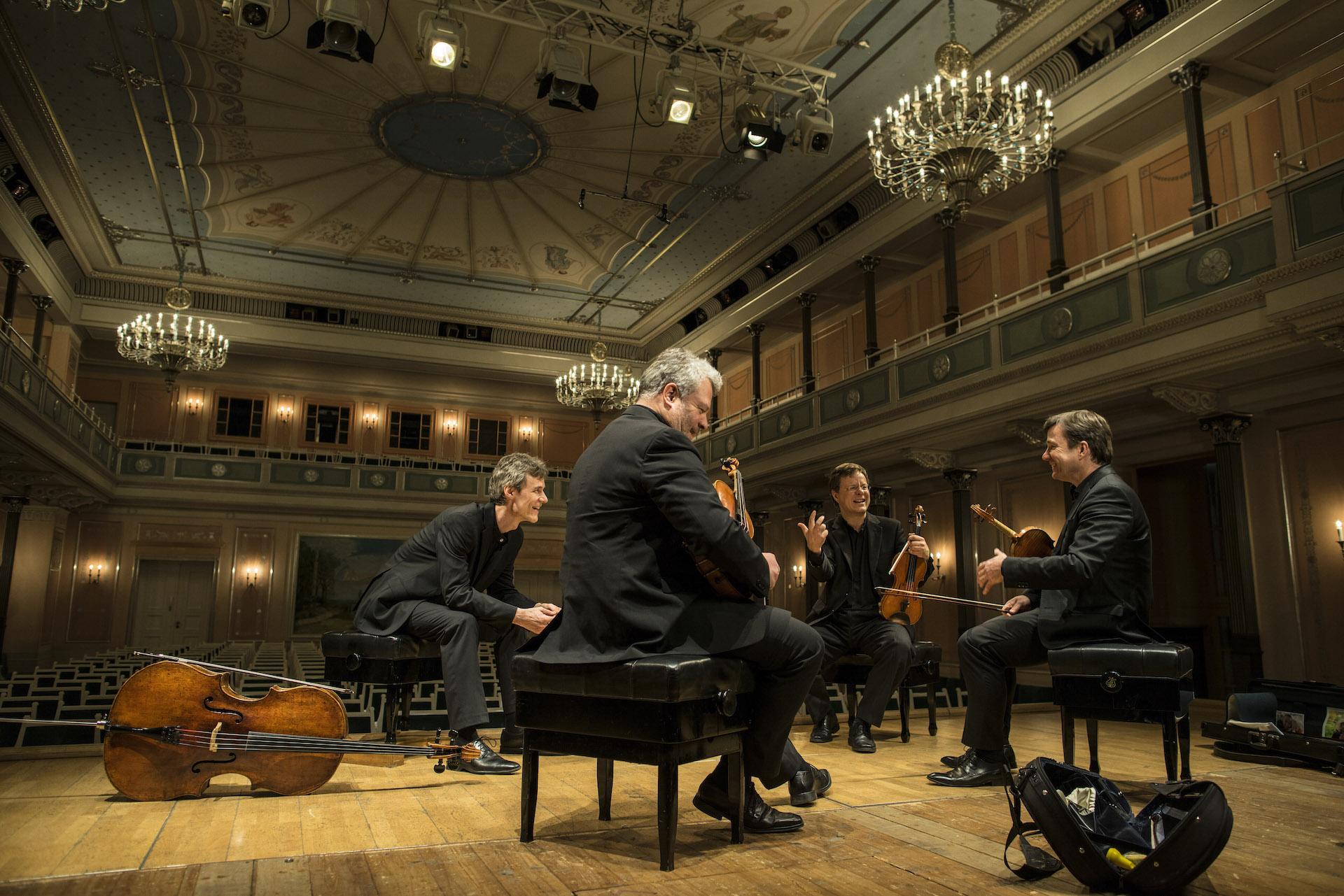 Vogler Quartett | Foto: © Marco Borggreve, Konzerthaus Berlin 2014-2015