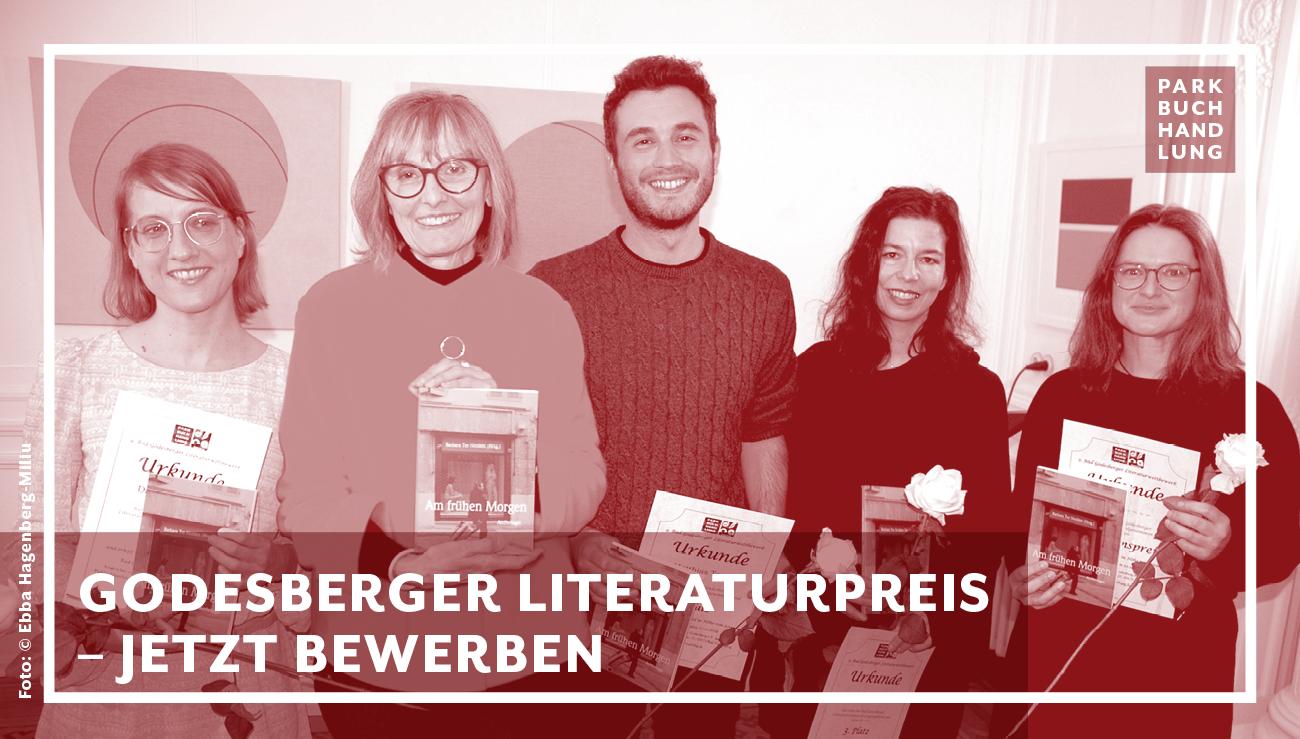 Godesberger Literaturpreis 2020 - Unerkanntes Schriftstellertalent? Bis zum 30.09. bewerben. Parkbuchhandlung Buchhandlung Bonn Bad Godesberg