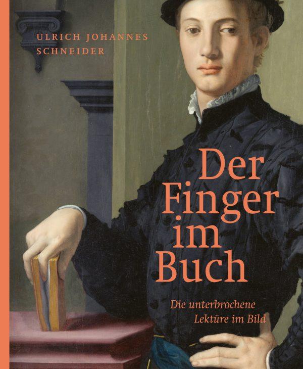 Der Finger im Buch von Ulrich Johannes Schneider Parkbuchhandlung Buchhandlung Bonn Bad Godesberg