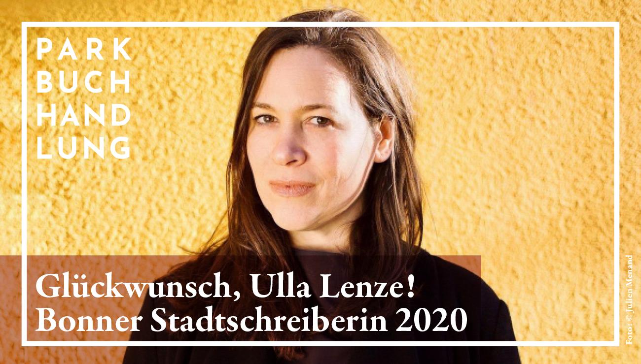 Bonner Stadtschreiberin 2020 – Die Entscheidung ist gefallen Parkbuchhandlung Buchhandlung Bonn Bad Godesberg